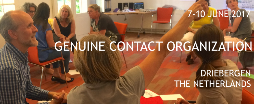 7-10 juni. Genuine Contact Organization